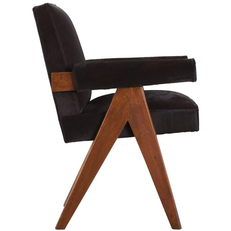 "Pierre Jeanneret, ""Office Chair"", circa 1959-1960 For Sale"