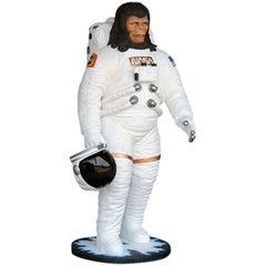 Astronaut Cornelius Sculpture in Resin Made in 2017