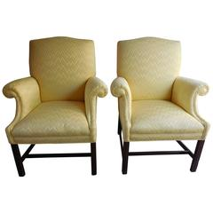 Contemporary Rolled Armchairs