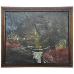 Large French Still Life Painting