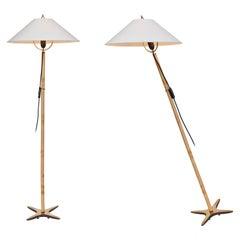 Carl Auböck X-Lamp Floor Lamp