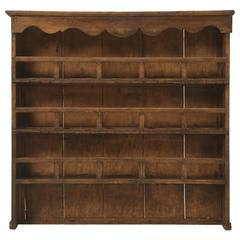Antique French Hanging Plate Rack, circa 1700s