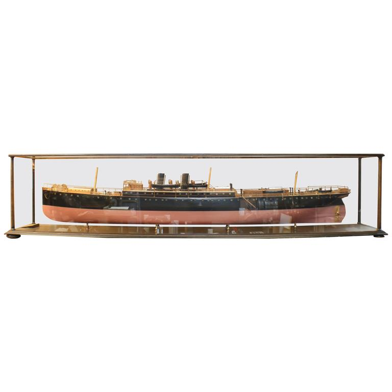 "Builder's Model of the P&O Steamship ""Clyde"""