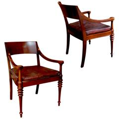 Exceptional Pair of Art Deco / Neo-Antique Armchairs by Kaj Gotlob