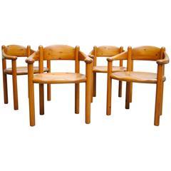 Set of Four Rainer Daumiller for Hirtshals Savvaerk Dining Chairs