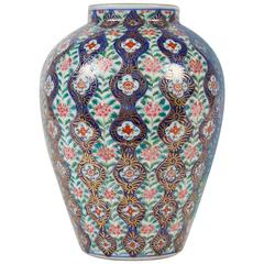 19th Century Persian Multi-Color Vase