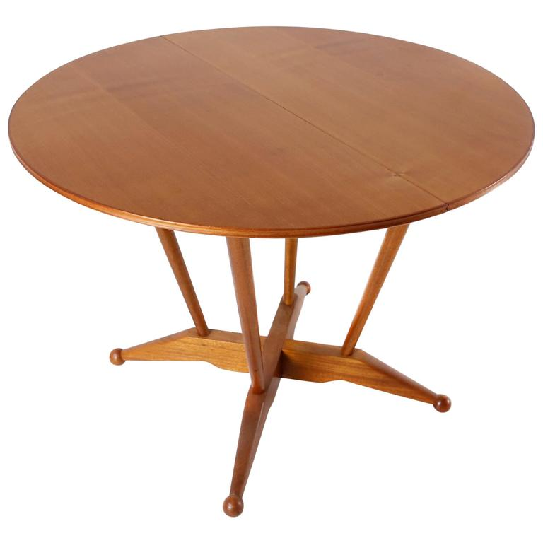Fabulous Atomic Dining Table by Aj Milne for Heals, circa 1950
