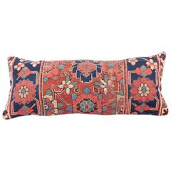 Pillow Case Made Out of a 19th Century NW Persian Rug