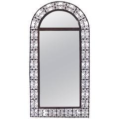 Mirror, Braided Iron, France, circa 1970