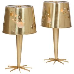 Pair of 'Lattea' Table Lamps by Roberto Rida