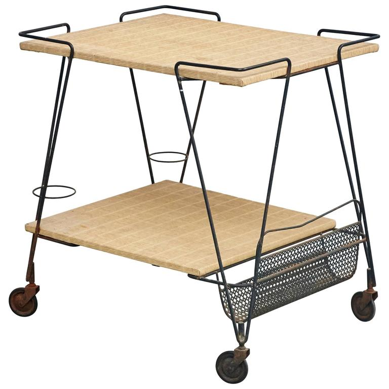 Mathieu Mategot Trolley, circa 1950 For Sale