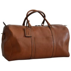 Italian Hand Made Buffalo Leather Dominio Travelbag