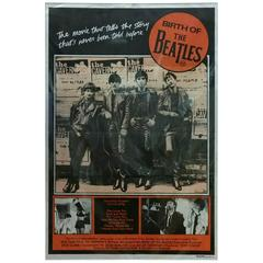 1979 Original Birth of the Beatles Movie Poster