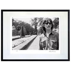 Rare Photographic Print of George Harrison by Olivia Harrison