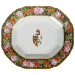 Chinese Export Armorial Tray