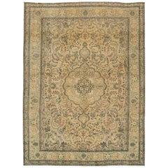 Gorgeous Vintage Persian Tabriz Rug