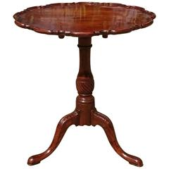 Important 19th Century Victorian Mahogany Wine Table after Thomas Chippendale