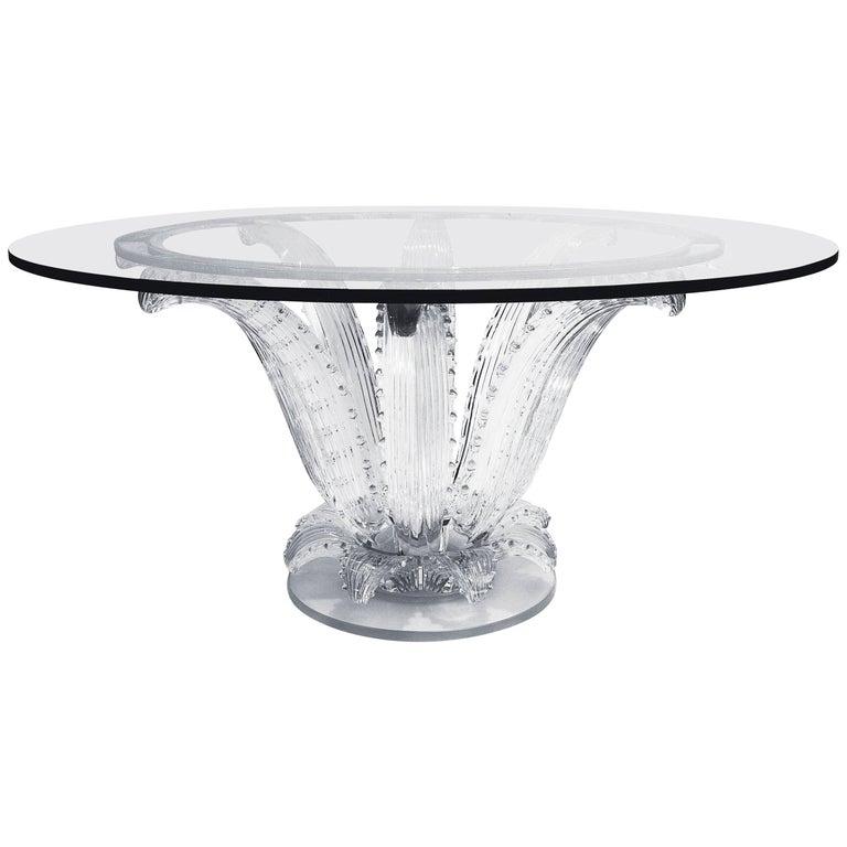 Lalique Cactus Table, 2017