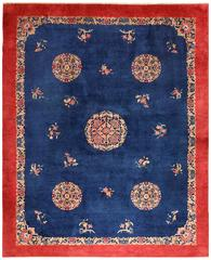 Antique Blue Chinese Rug
