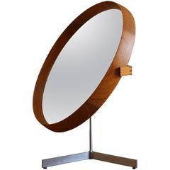 Tabletop Mirror by Uno and Östen Kristiansson for Luxus