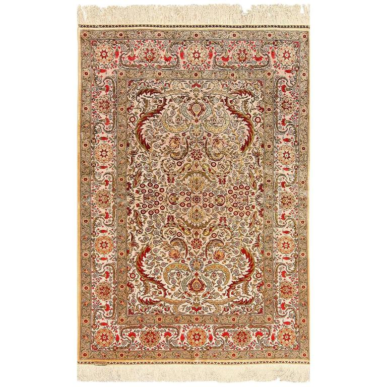 Hereke Carpet At 1stdibs