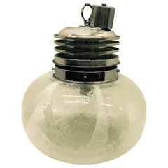 Space Age Murano Glass Lamp, circa 1965