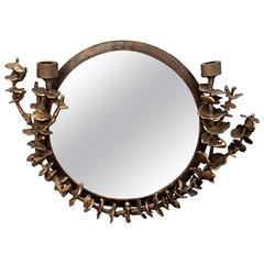 "Michel Salerno, ""Au Fond Des Yeux"", Mirror, France, 2014"