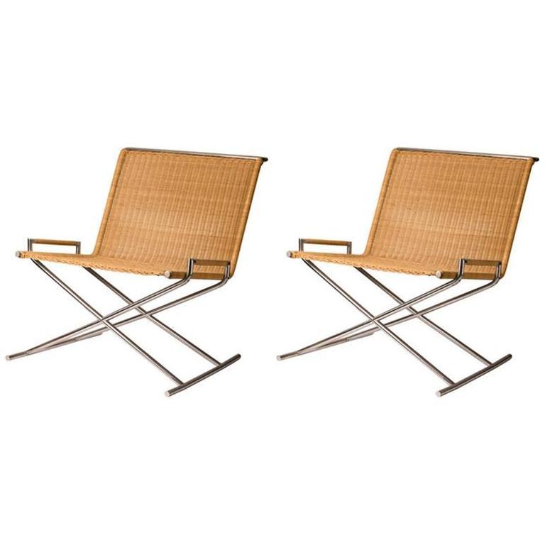 Ward Bennett Sled Chairs