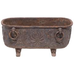 Early 20th Century Chinese Cast Iron Tub