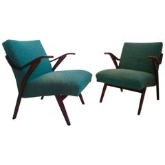 Pair of Armchairs in Brussels Style