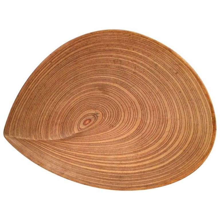Wonderful Tapio Wirkkala Plywood Leaf For Sale