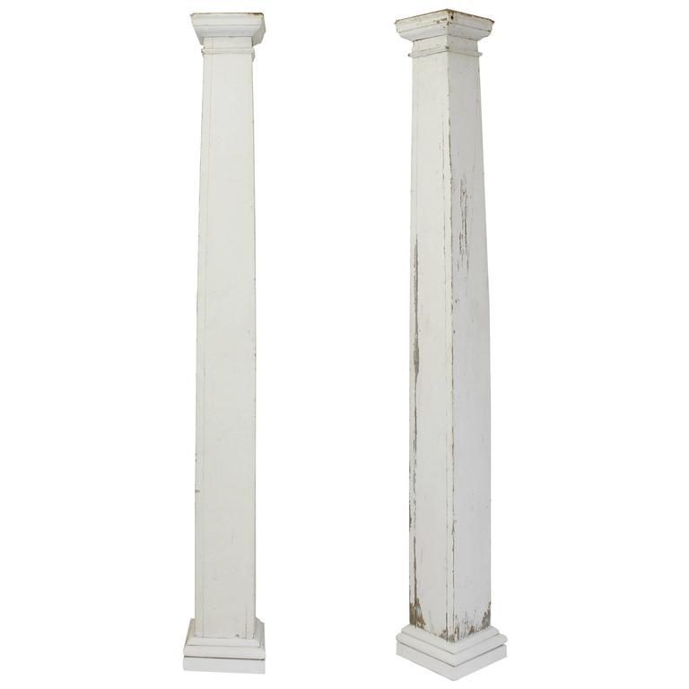 Craftsman style porch columns c 1910 for sale at 1stdibs for Craftsman columns