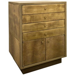 French Gilded Wood Bureau by Christian Lacroix