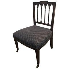 19th Century English Slipper Chair