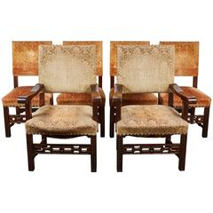 20th Century Spanish Renaissance Revival Dining Room Set