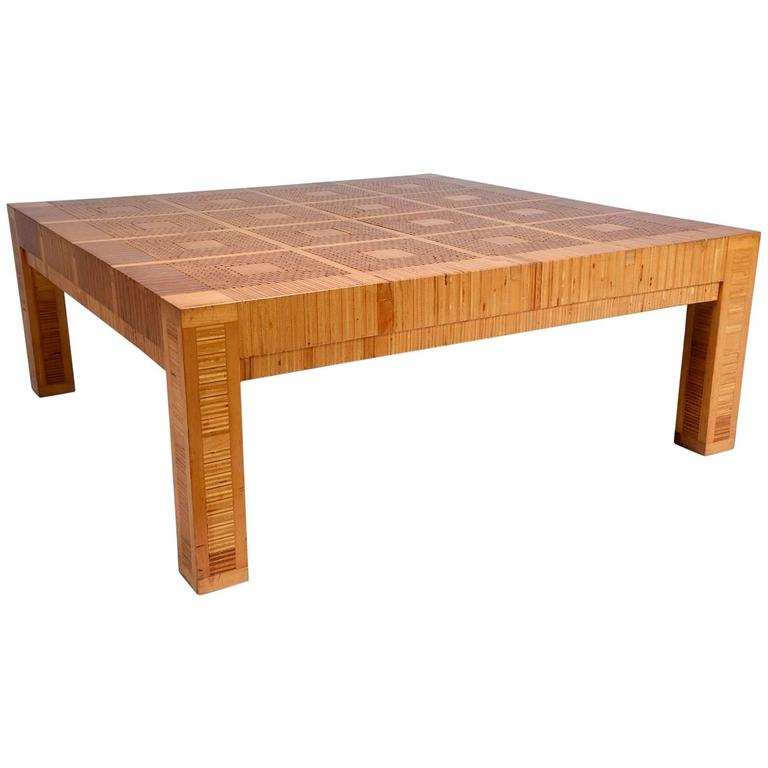 Modern geometric coffee table for sale at 1stdibs for Geometric coffee table