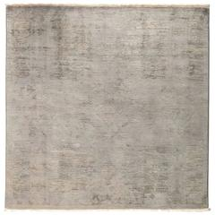 Overdyed Area Rug in Gray