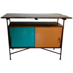 Mid Century Modern Sideboard or Cocktail Bar by Arthur Umanoff for Raymor, 1950s