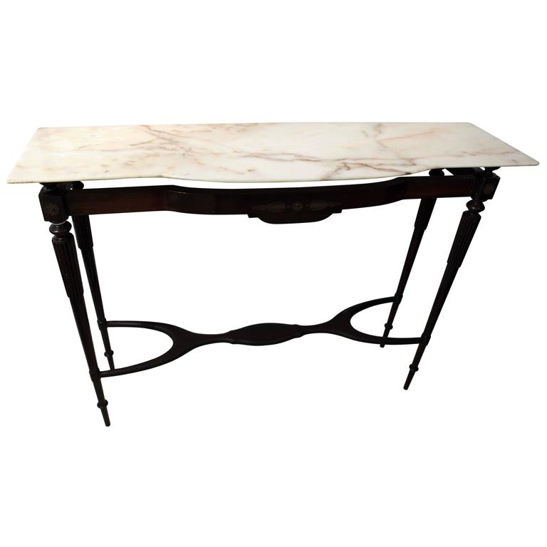 Italian Designed Console Table Attributed to Guglielmo Ulrich, 1940