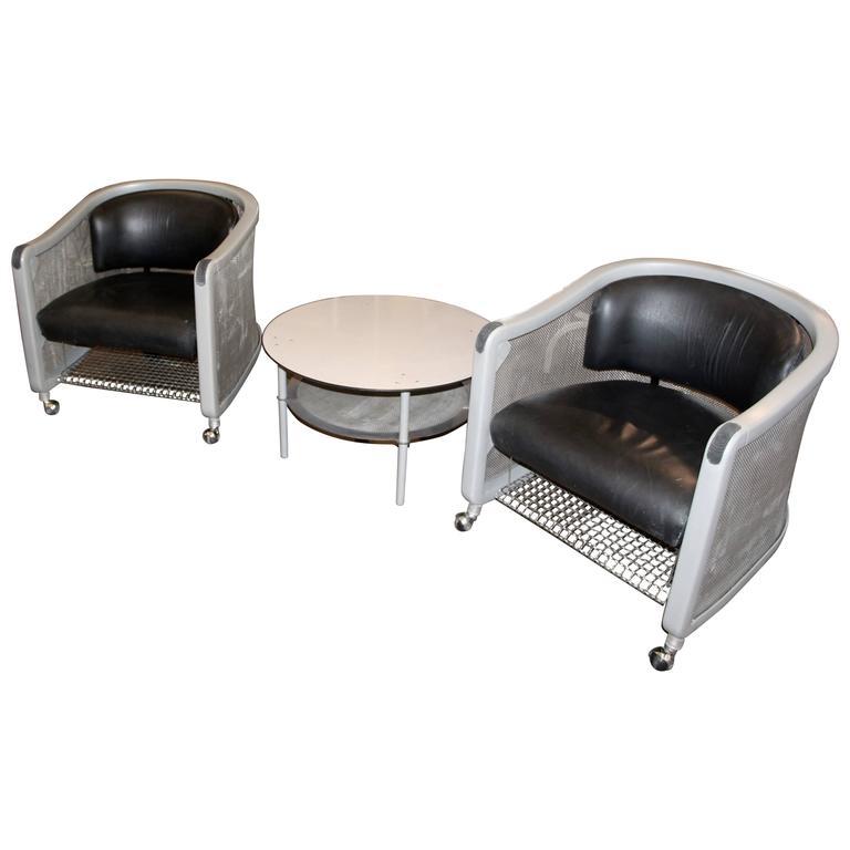 Captivating Knoll Studio Neil Frankel Suite Of Furniture From 1999 For Sale