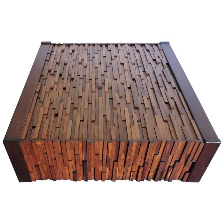 Percival lafer large mid century modern rosewood brazilian coffee table at 1stdibs - Brazilian mid century modern furniture ...