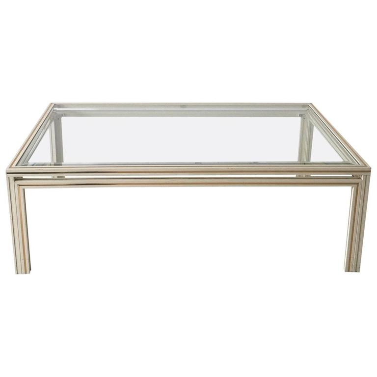 Pierre Vandel Paris Rectangular Coffee Table 1970s 1980s For Sale At 1stdibs
