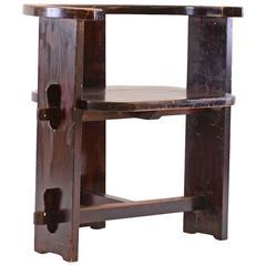 Early 20th Century Unique Jugendstil Chair, Original