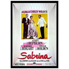 """Sabrina"" Film Poster, 1954"