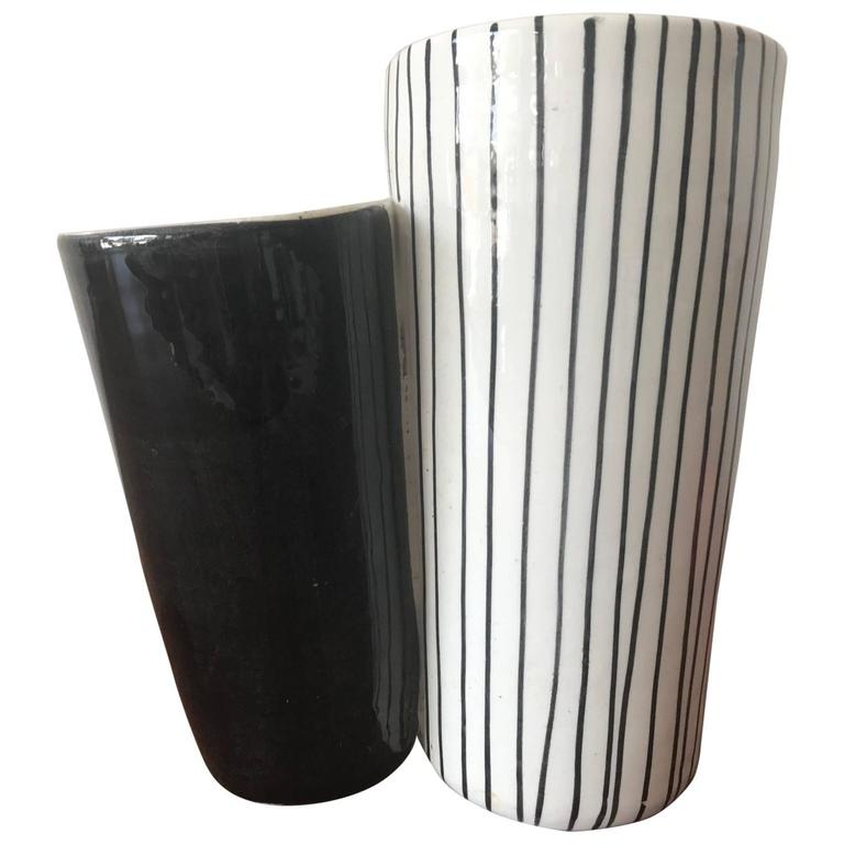 Ceramic Vase by Mancioli, Italy, circa 1960s For Sale