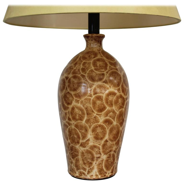 Interesting Ceramic Table Lamp