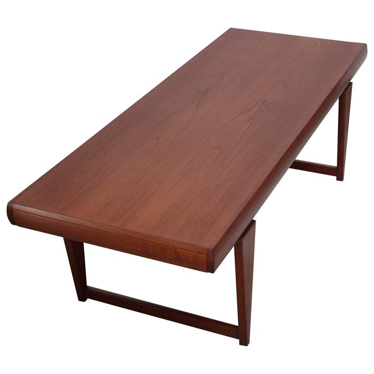 Danish Modern Teak Extendable Coffee Table For Sale At 1stdibs