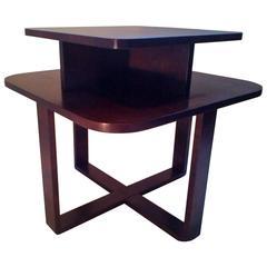 Rectangular Bentwood Coffee Table in Art Deco