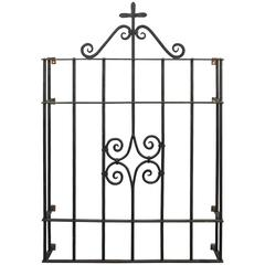 1920s Wrought Iron Window Grill