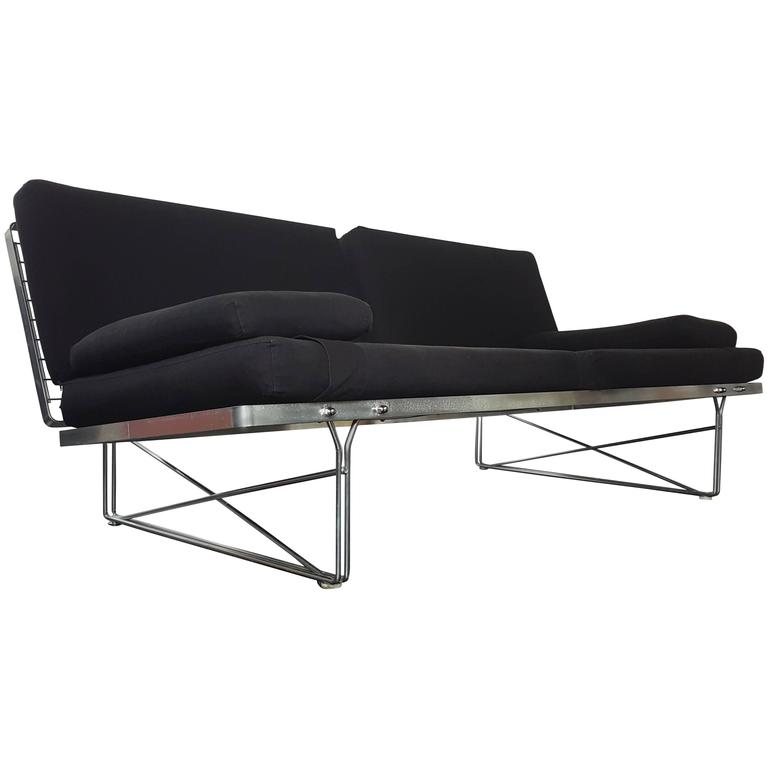 Niels gammelgaard for ikea umomentu sofa with chaise plexi for Chaise design plexi